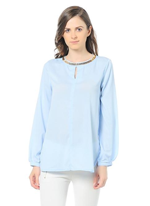 Dewberry Bluz Mavi